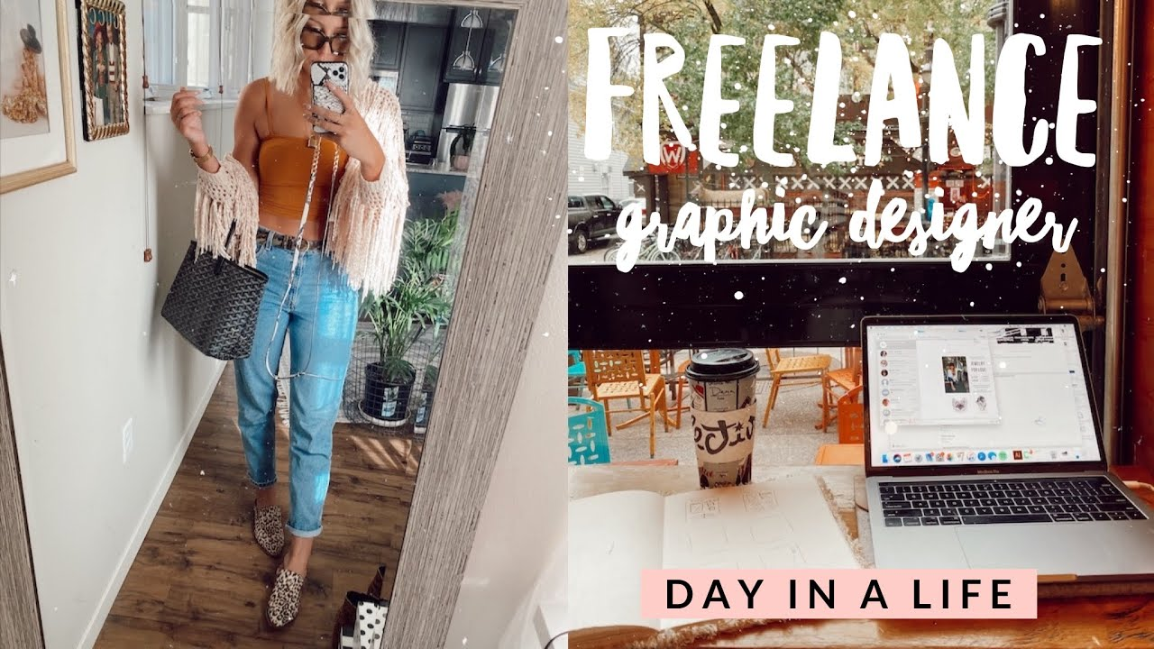 Day In A Life Of A Freelance Graphic Designer Youtube