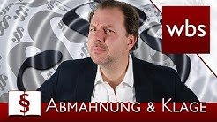 Jura Basics: Klage und Abmahnung | Rechtsanwalt Christian Solmecke