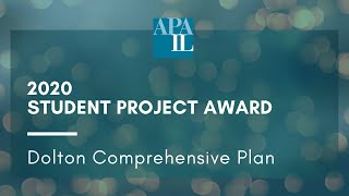 2020 APA-IL Student Project Award - Village of Dolton Comprehensive Plan