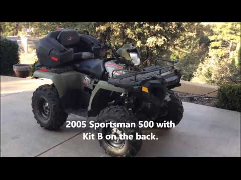 HEY! Looking for a Polaris Sportsman Lock and Ride Box? We