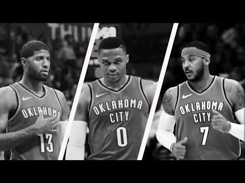 OKC Thunder Intro 2017-2018 (KD back to OKC)