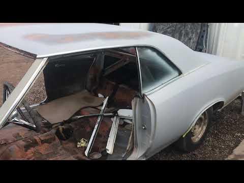 67 GTO Dash Removal
