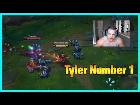 1/1/11 Tyler1 's number 1...LoL Daily Moments Ep 1472  