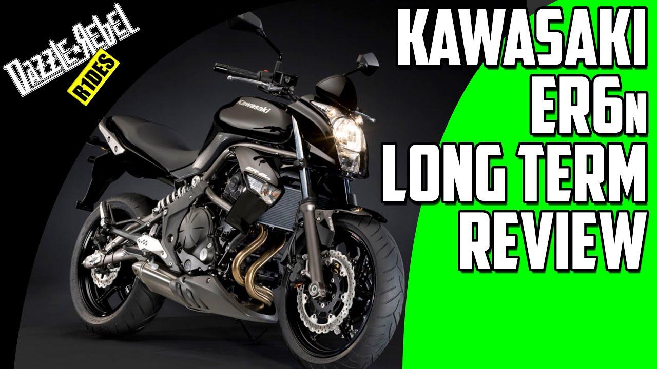kawasaki er6n long term review youtube. Black Bedroom Furniture Sets. Home Design Ideas