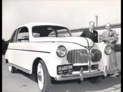 Henry Ford's Hemp powered car!