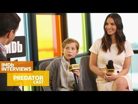Olivia Munn & Jacob Tremblay Talk Through The 'Predator' Experience  TIFF 2018