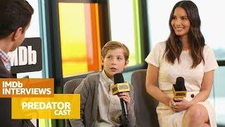 Olivia Munn & Jacob Tremblay Talk Through The 'Predator' Experience | TIFF 2018