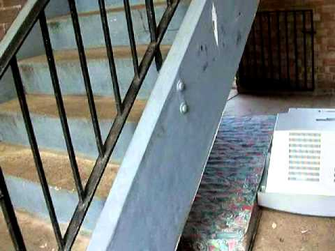 Parking issues and Residents leaving unused property under staircase Newark-On-Trent