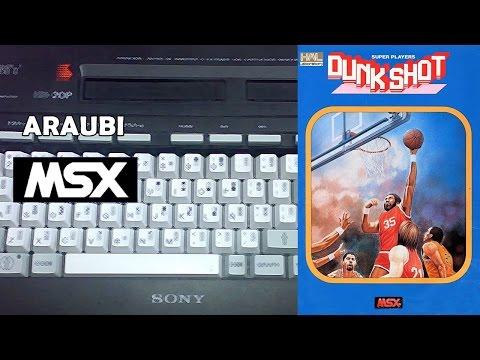 Dunk Shot (Hal Laboratory, 1986) MSX [085] Walkthrough