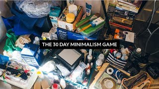 The 30 Day Minimalism Game  |  My 4th Round
