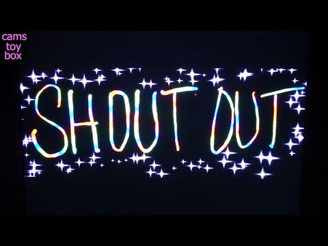 Shout Outs with Love from Cams Toy Box Surprise Toys opening Channel - 동영상