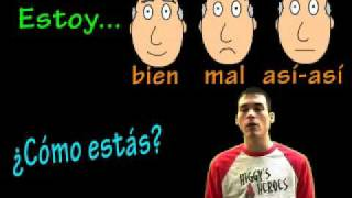 Learn Spanish! - Describing feelings with Estar (to be) thumbnail