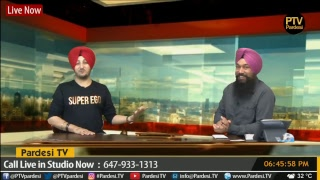 Gambar cover Live Interview with Inderjit Nikku with host Satnam Singh on Pardesi TV