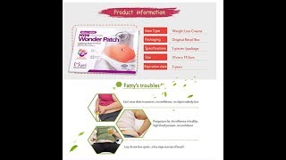Healthcare medicine-Slimming Patch Burn Fat Belly Weight Loss