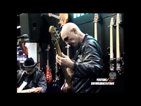 Tony Levin Bass Demo-Ernie Ball-NAMM 2013-Bay Area Backstage