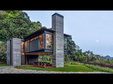 感動的な家🏡ユニークな建築