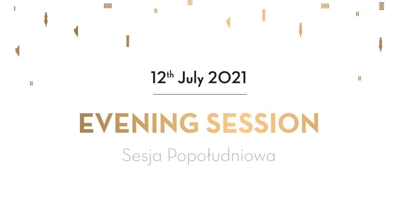Day 1 - Evening Session - Preliminaries - 18th International Fryderyk Chopin Piano Competition 2021
