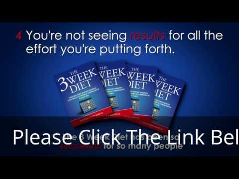 (Health & Fitness) the 3 week diet book