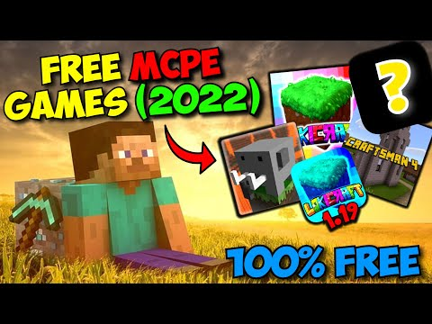 TOP 5 BEST GAMES LIKE MINECRAFT PE For FREE - (Epic MCPE Copy Games)