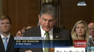 "Dem. Sen. Manchin: Gov. Perry Has ""Experience And The Tenacity"" To Serve As Secretary"