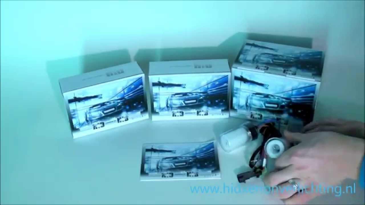 xenon verlichting kit inbouwen slim line