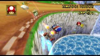 [Mario Kart Wii 300cc TAS] DS Yoshi Falls 29.512 (Kart)