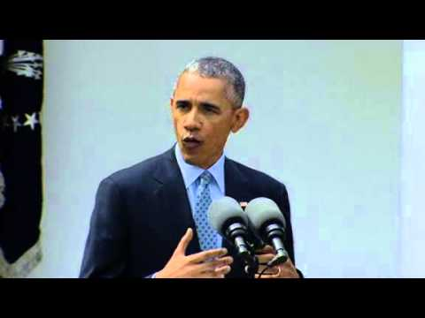 Obama: Iran framework is 'historic' understanding, warns Congress against upending progress