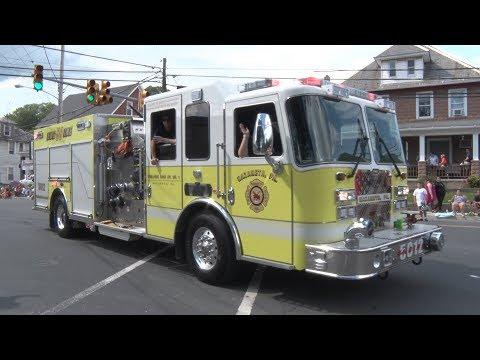 2018 Pen Argyl, PA Labor Day Parade  9/3/18
