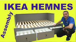 Ikea HEMNES Day bed assembly instructions (2019)