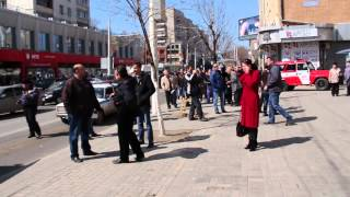 Взрыв на улице Московской города Саратова
