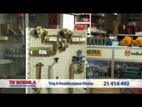 TA BORMLA  HARDWARE & MARINE AT MOSTA