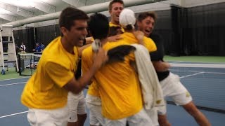 2019 Men's Tennis Championship - Wichita State Quarterfinal Post Match