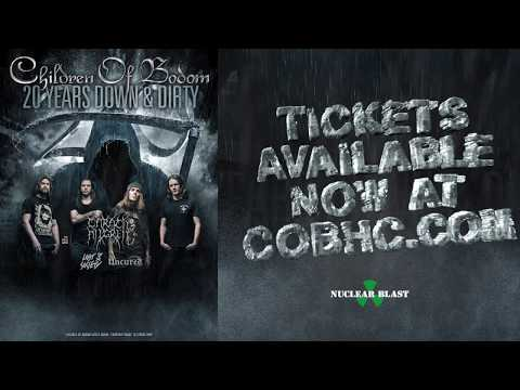 """CHILDREN OF BODOM - """"20 Years Down and Dirty North American Tour 2017"""" (OFFICIAL TOUR TRAILER)"""