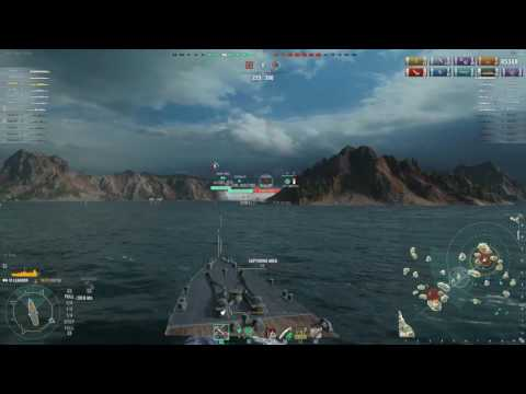 WOWS Leander