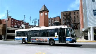 SHERBROOKE QC STS NOVA BUSES IN ACTION