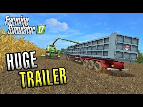 Farming Simulator 2017 | HUGE TRAILER | Sandy Bay | Episode 21