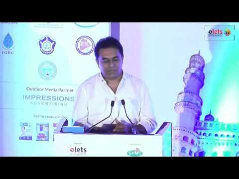 National Urban Development Summit 2017 - Shri K T Rama Rao, Minister, Government of Telangana
