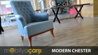 Modern Chester Koltuk Takımı www.mobilyacarsi.com Video