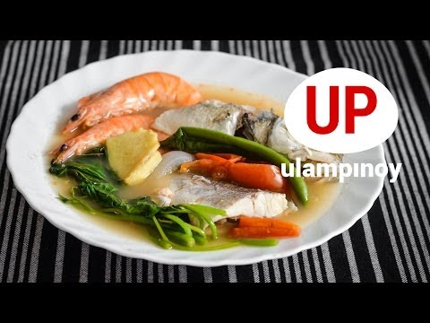 SINIGANG Na Hipon At Isda 🍤🐟 (Seafoods Sinigang 2) —  Ulam Pinoy #30【HD】