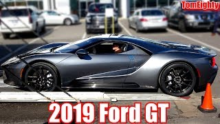 Delivery of a 2019 Ford GT