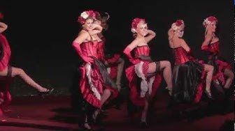 The Moulin Rouge Showgirl: Can Can Burlesque!