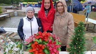 18. День города Верхняя Пышма - 2014. Выставка цветов и деревьев из бисера.