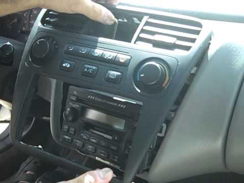 How to Honda Accord Bose Car Stereo radio cd Removal and Repair 1998