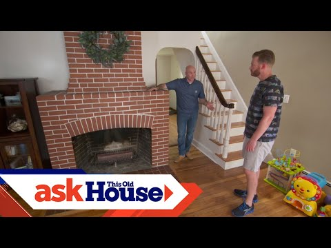 How to Repair a Damaged Fireplace Brick | Ask This Old House