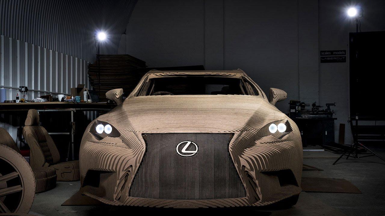 画像: Lexus - Making the Origami Inspired Car youtu.be