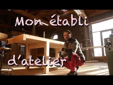 mon tabli d 39 atelier youtube. Black Bedroom Furniture Sets. Home Design Ideas