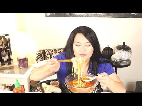 Khao Poon Dish Review from Amazing Thailand Restaurant!