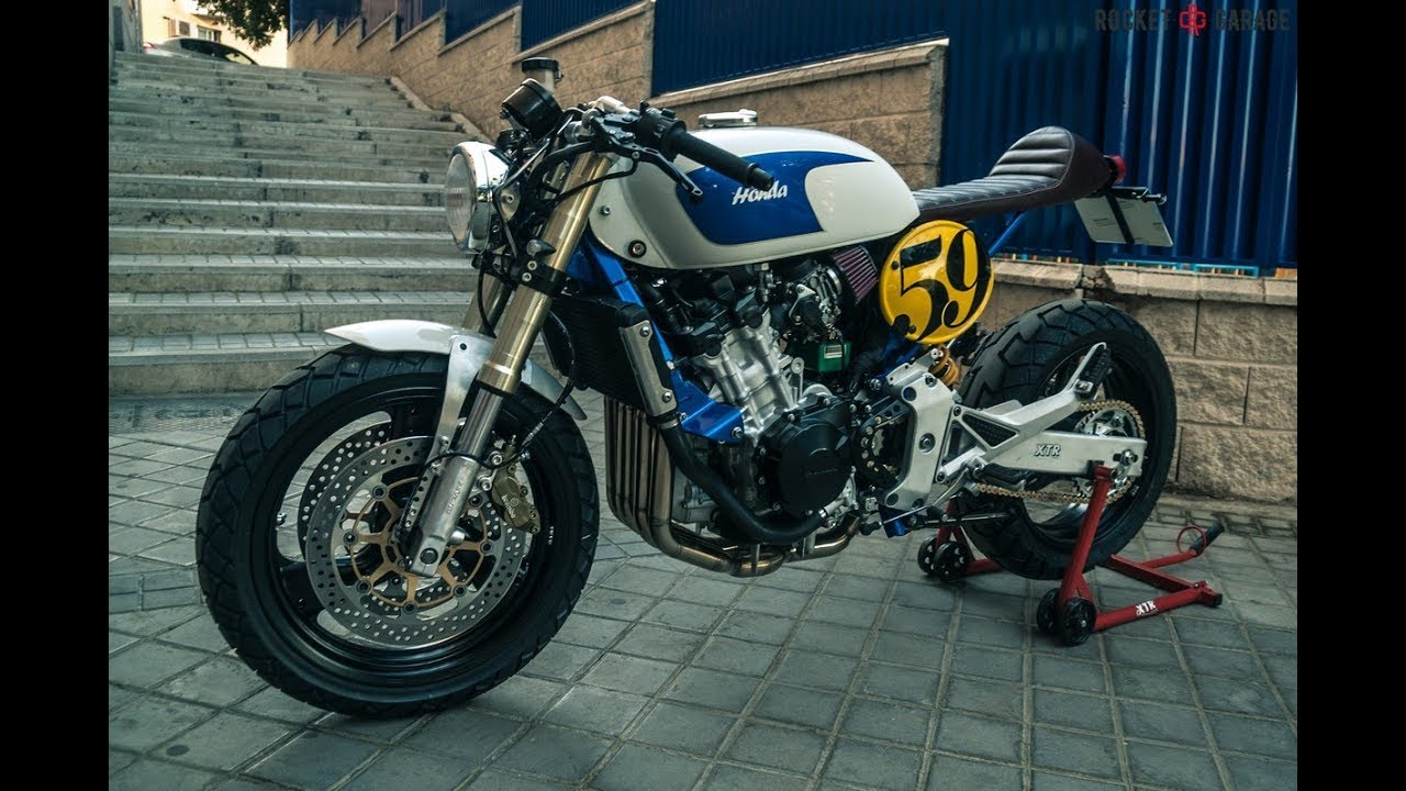 Xtr Honda Hornet 600 Sake Racer Cafe Racer Nakedbikesworld Youtube