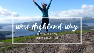 West Highland Way | Sęptember 2018 | solo hiking and camping