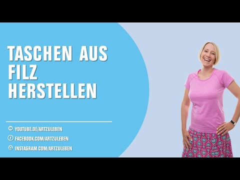 Tasche Filzen Anleitung [Online-Videokurs]